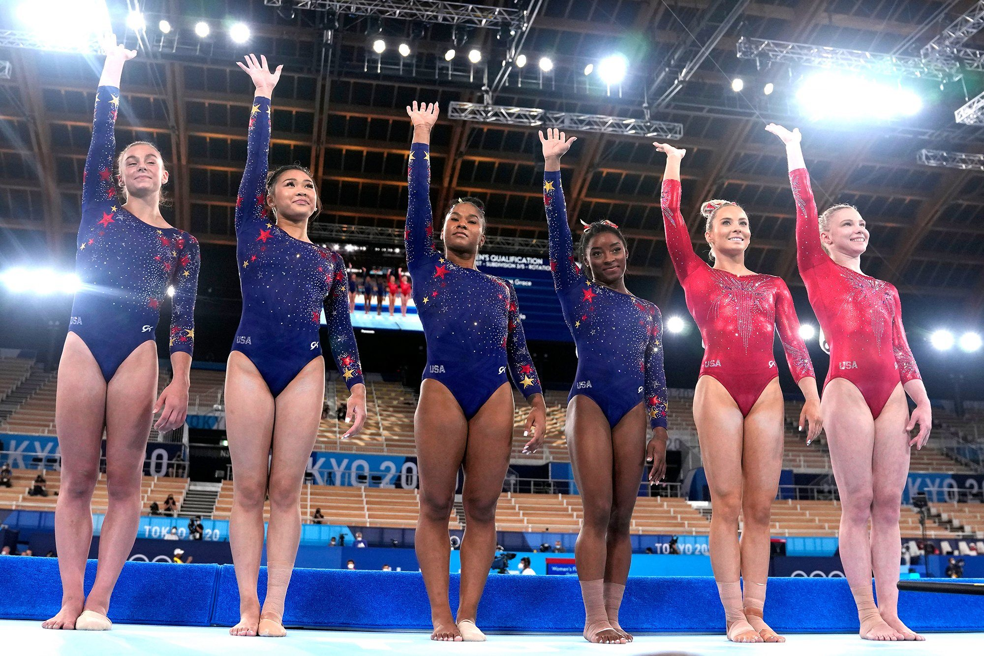 Olympic women's gymnastics odds team all-round