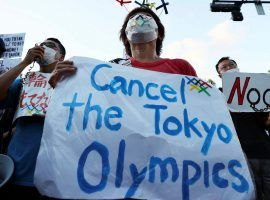 Organizers of the Tokyo Olympics say that a last-minute cancellation is still possible, if unlikely, as the Games are set to hold an opening ceremony on Friday. (Image: Reuters)
