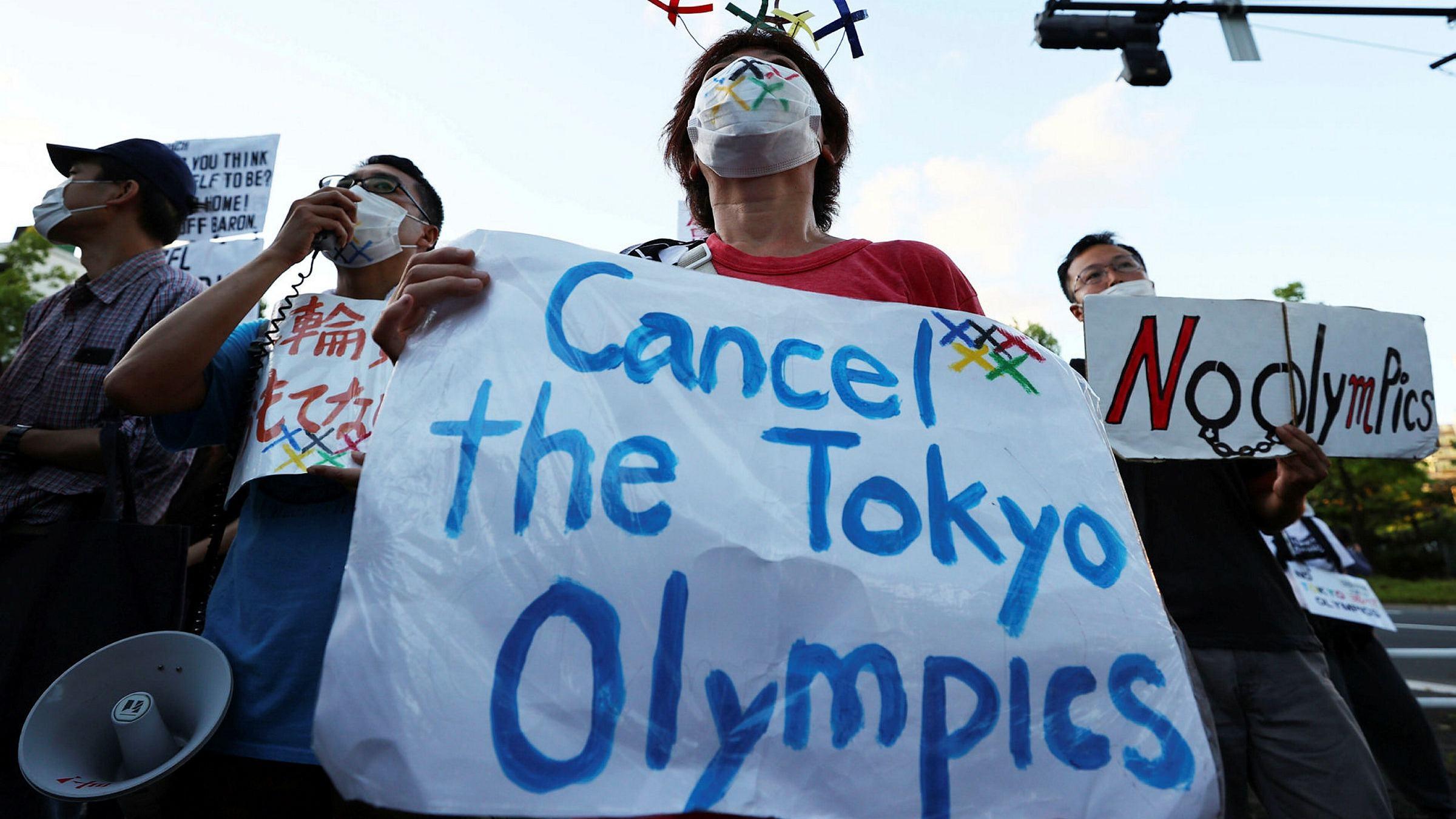 Tokyo Olympics COVID cancellation