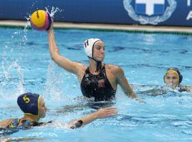 The United States comes into the Tokyo Olympics as the clear favorite in women's water polo. (Image: USA Water Polo)