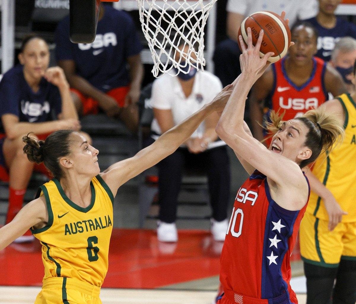 Olympic women's basketball odds