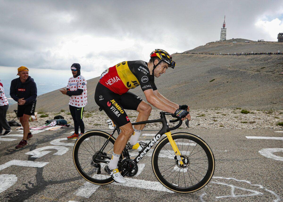 Wout Van Aert Le Tour de France 2021 Stage 11 Mont Ventoux