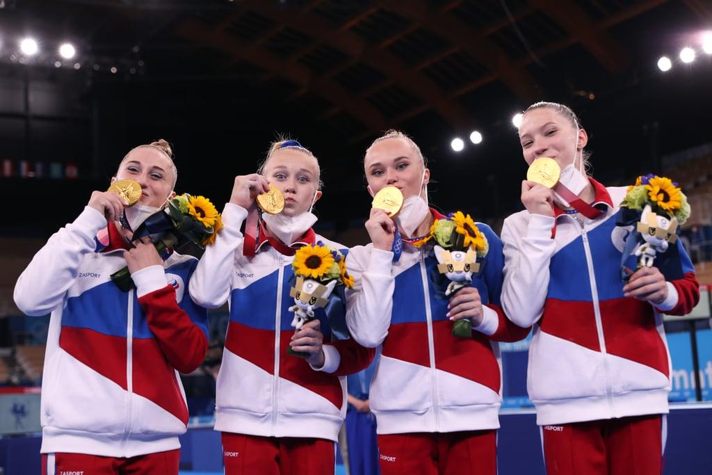 Olympic women's gymnastics team Biles