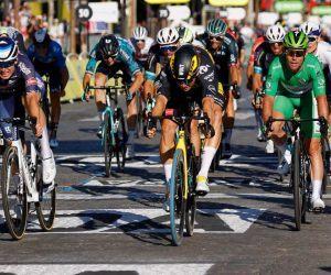 Mark Cavendish Stage 21 Tour de France Le Paris Sprint Wout Van Aert