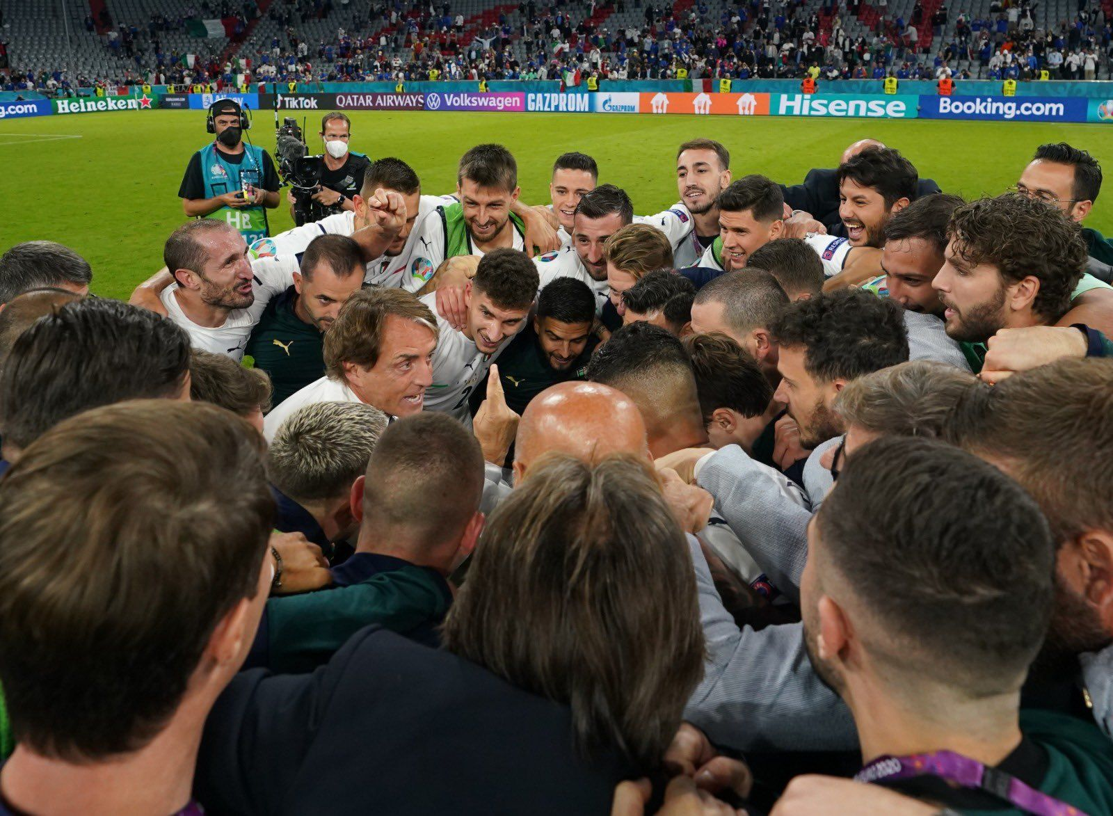 Italy beat Belgium at Euro 2020