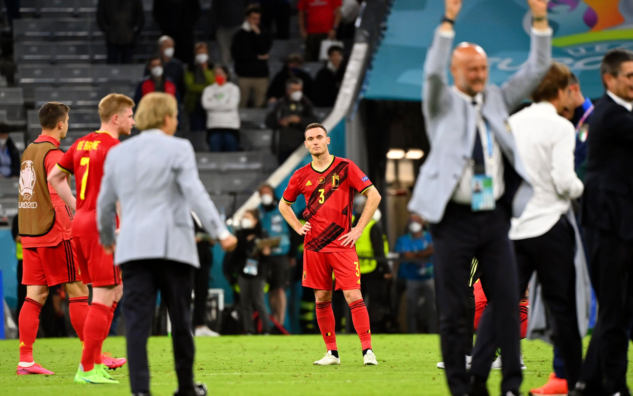 Belgium out from Euro 2020