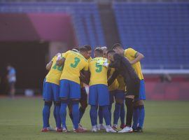 Brazil are regarded as the main favorites in the Men's Soccer Tournament at the Tokyo Olympics. (Image: Twitter/CBF_Futebol)