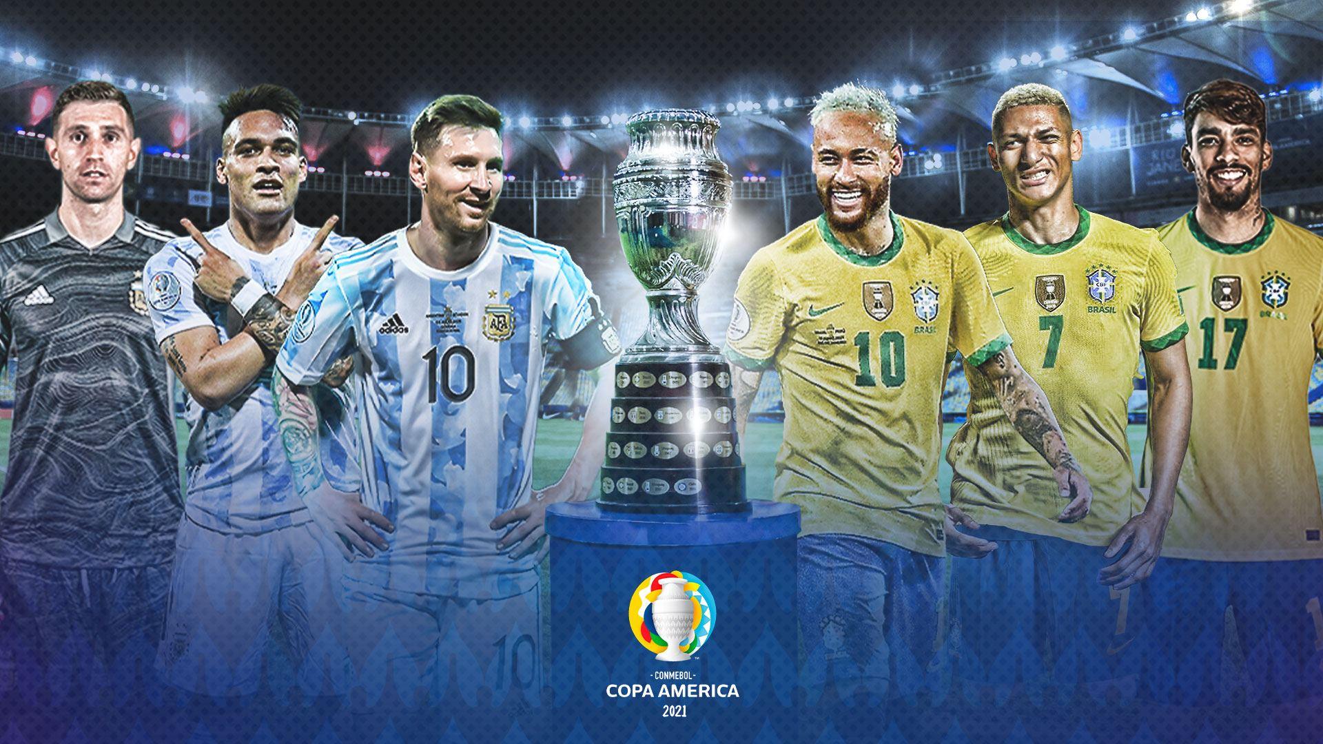 Final Copa America Brasil vs Argentina