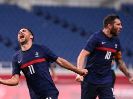 Andre Pierre Gignac scored a hat-trick as France came back from behind three times to beat South Africa 4-3 at the Olympics. (Image: Twitter/equipedefrance)