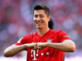 Lewandowski scored 34 goals for Bayern and Poland in 2021. (Image: Twitter/Bundesliga)