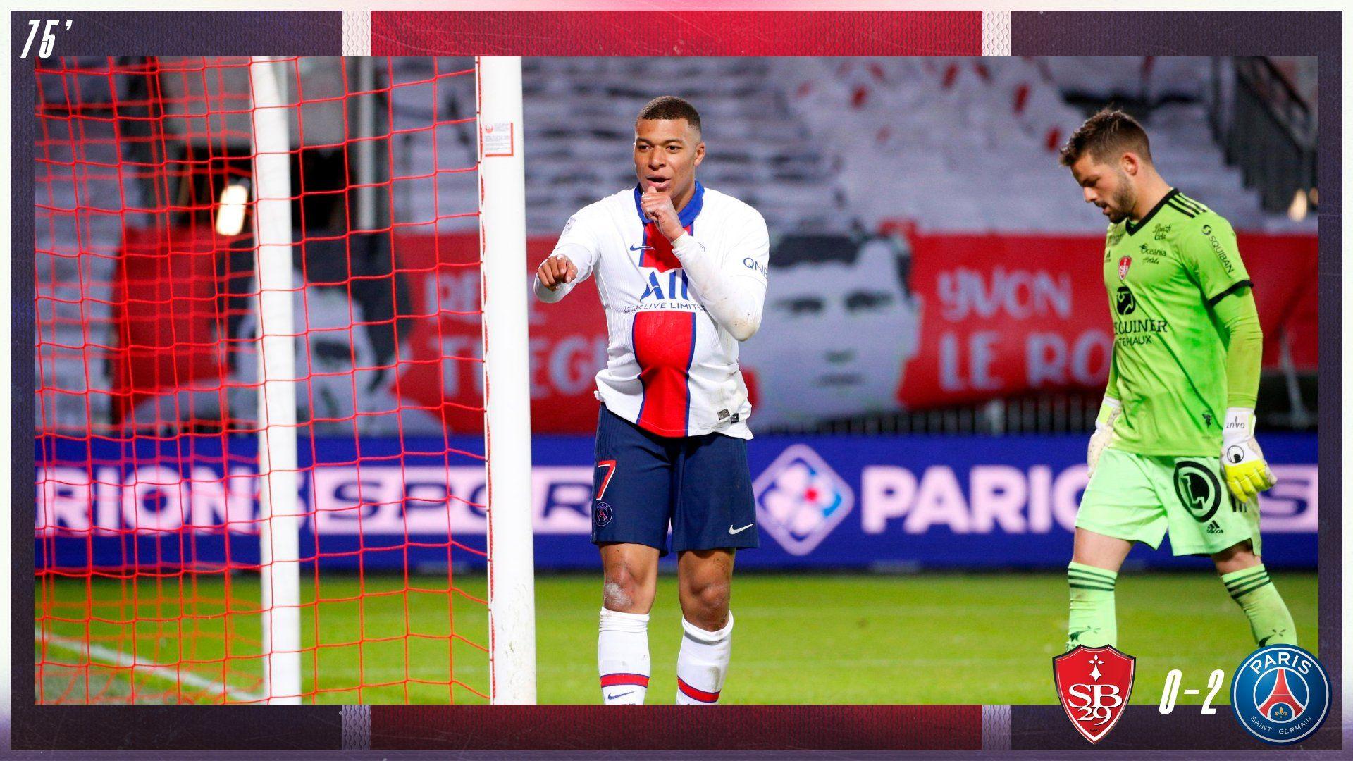 Gol Mbappe PSG