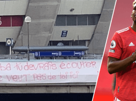 Part of PSG's ultras don't want the club to sign Paul Pogba from Manchester United after his 'pro-Marseille' comments in 2018. (Image: www.otbsports.com)