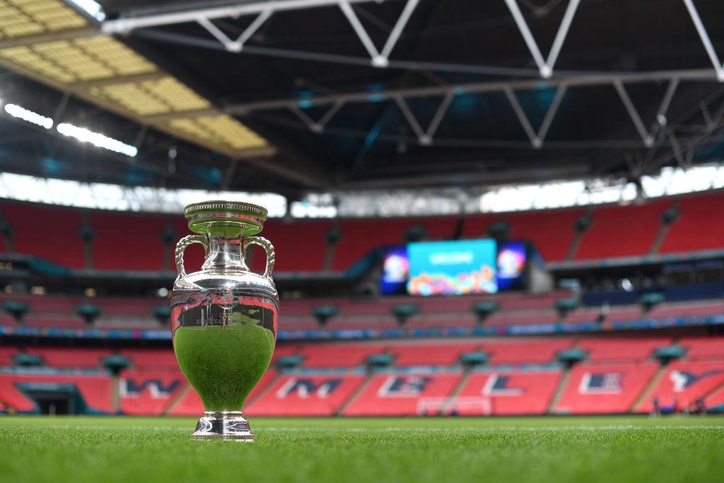 Trofi Euro 2020 di Wembley