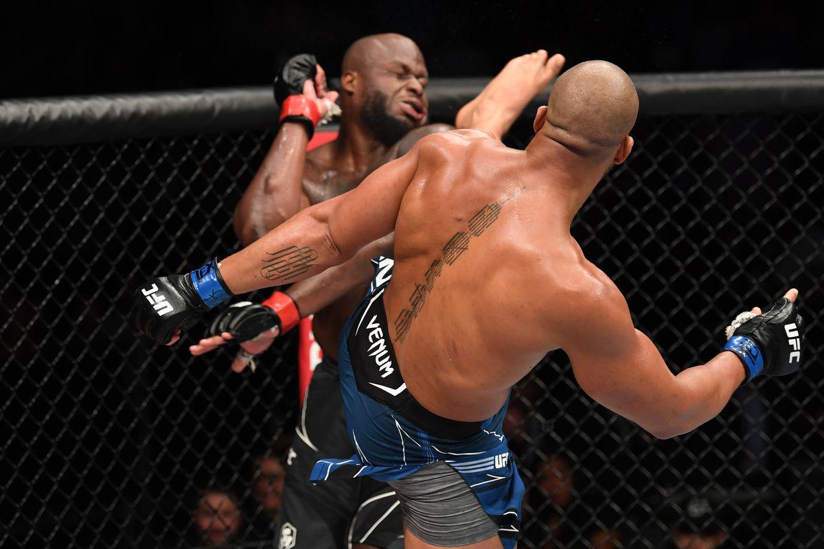 Ciryl Gane UFC Fight Island