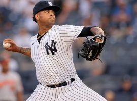Rookie Luis Gil from the New York Yankees shut down the Boston Red Sox last night to set a MLB record with three consecutive scoreless starts. (Image: Getty)