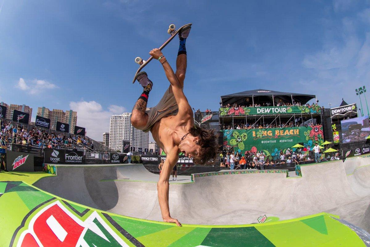 skateboarding odds park Olympics