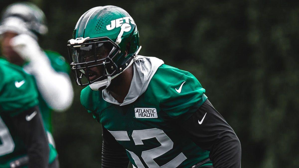 Jets Injury Jarrad Davis ankle