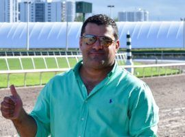 Trainer Jorge Navarro became the highest-profile defendant pleading guilty in a wide-ranging, government indictment. He faces up to five years of prison and millions of dollars in restitution payments. (Image: Gulfstream Park)
