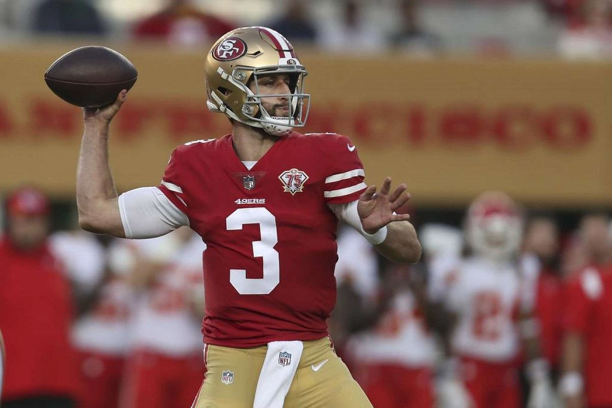 San Francisco 49ers cut Josh Rosen QB Chosen