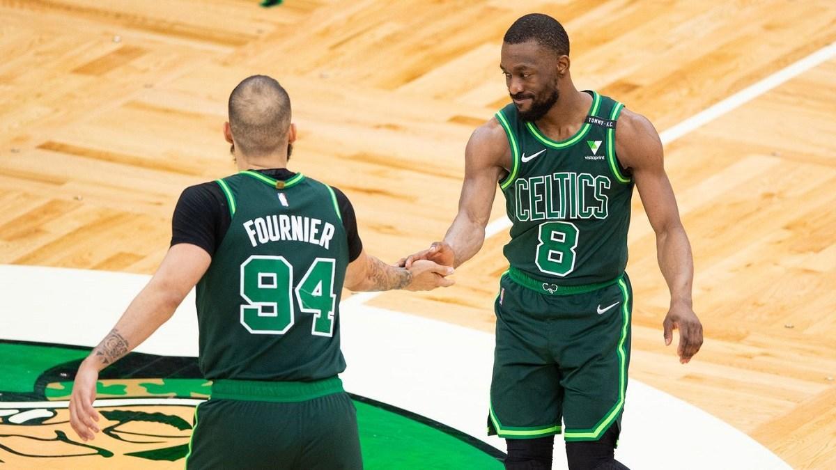Kemba Walker Evan Fournier New York Knicks sign