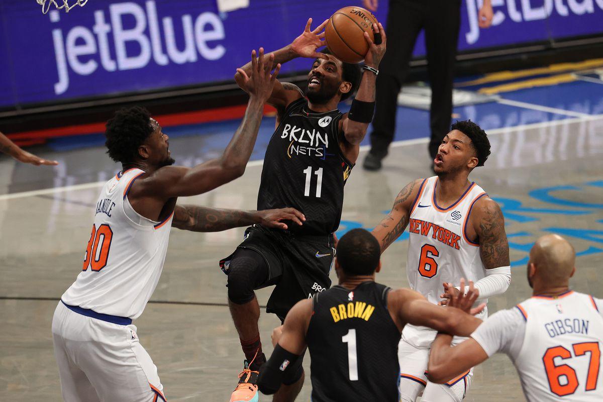 New York Knicks Brooklyn Nets NBA win totals Lakers Suns Bucks