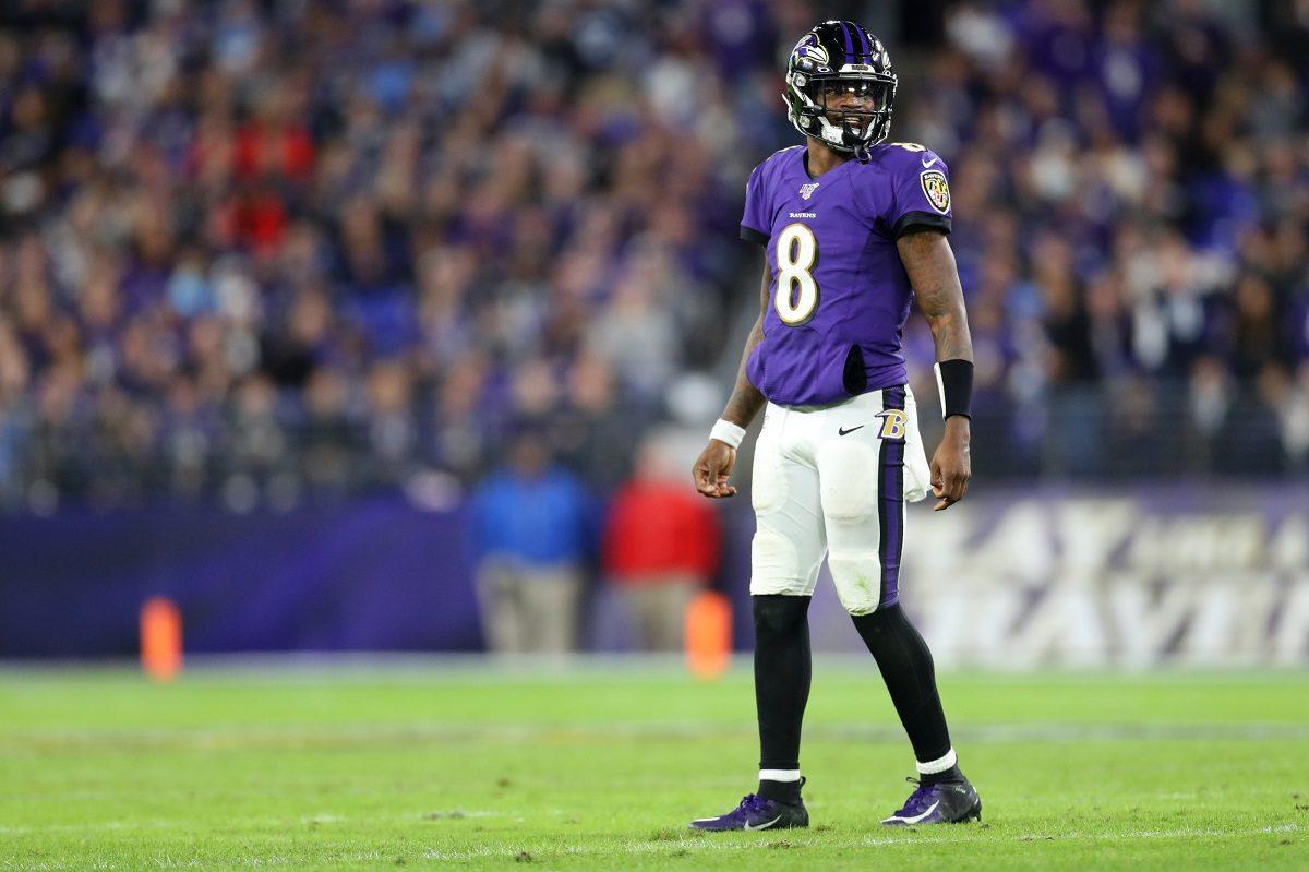 Lamar Jackson Baltimore Ravens AFC North odds Bengals Browns Steelers