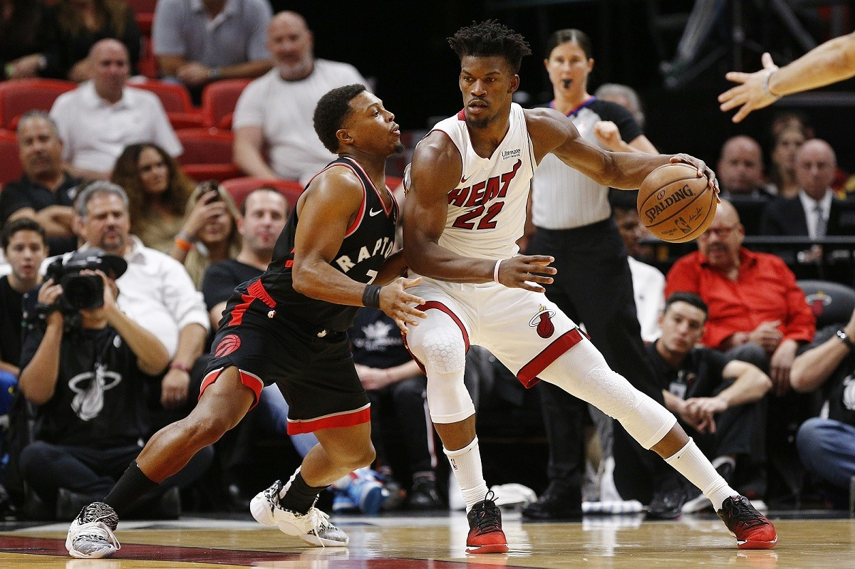 Kyle Lowry Jimmy Butler Miami Heat trade