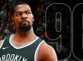 Kevin Durant earned one of the highest ratings for the NBA 2K22 edition. (Image: EA Sports)
