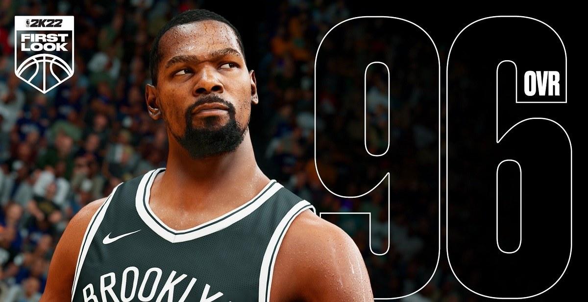 Kevin Durant NBA 2K 2K22 rating Trae Young