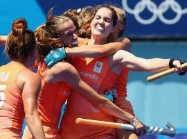 The Netherlands will look to complete a dominant run through the women's Olympic field hockey tournament when it faces Argentina in the gold medal match. (Image: Reuters)