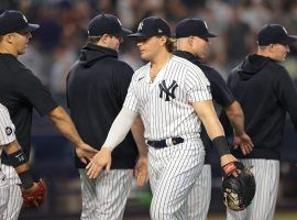 The New York Yankees have won 11 straight to take the lead in the competitive AL wild card race. (Image: Vincent Carchietta/USA Today Sports)