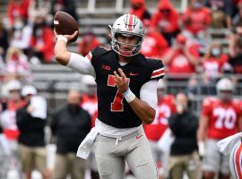 Redshirt freshman CJ Stroud will take over at quarterback as Ohio State aims to win a fifth straight Big Ten Championship. (Image: Jamie Sabau/Getty)