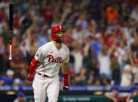 e Philadelphia Phillies have won eight straight to storm into first place and become the favorites to win the NL East. (Image: Rich Schultz/Getty)