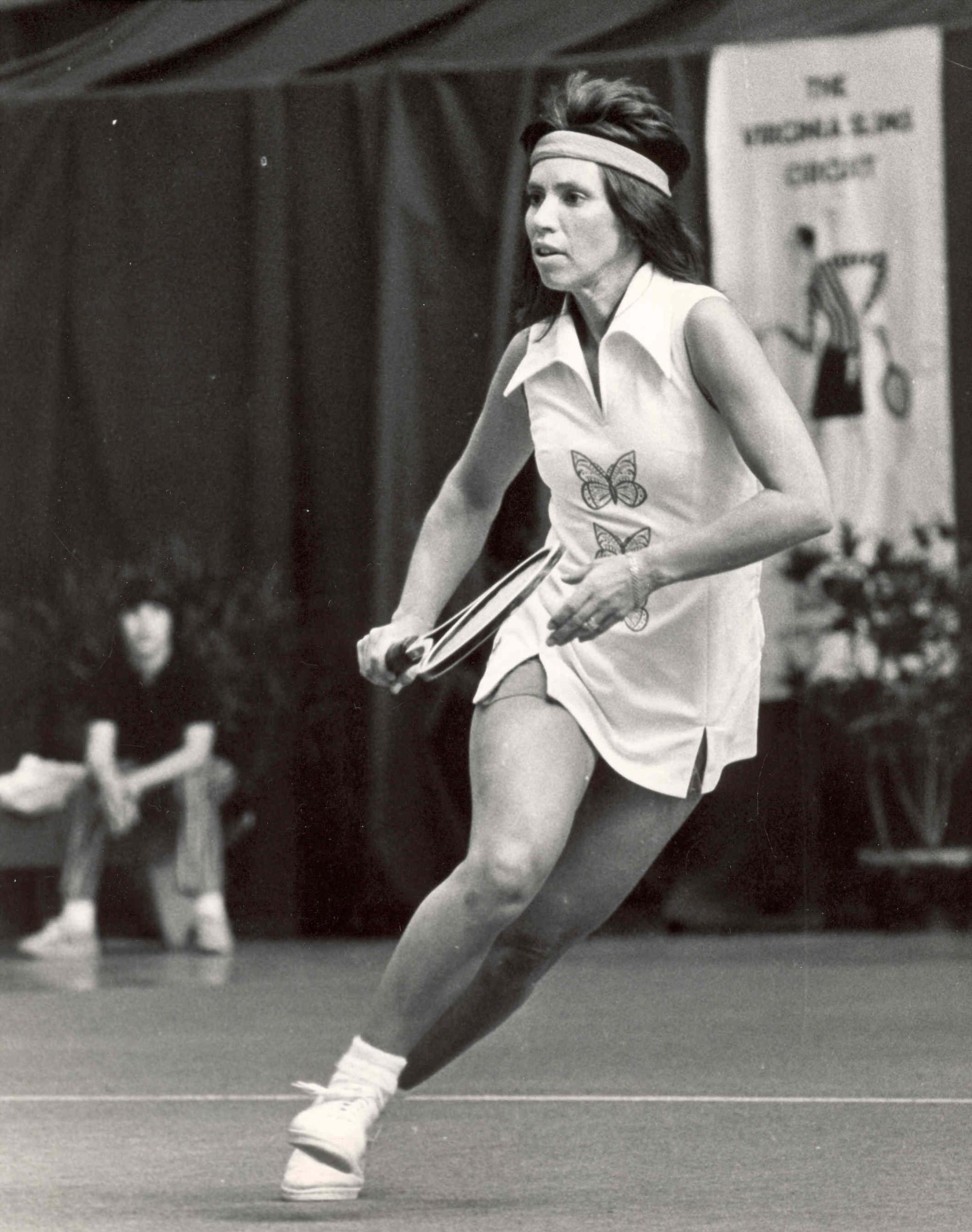 Rosie Casals won the 1970 Virginia Slims of Houston
