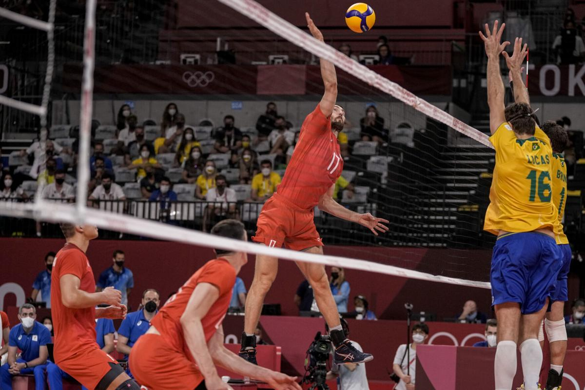 Olympic volleyball odds ROC France