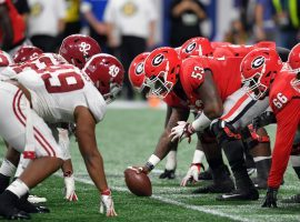 Alabama and Georgia enter the 2020 college football season as the clear favorites to compete for the SEC Championship. (Image: Dale Zanine/USA Today Sports)