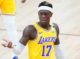 Dennis Schroder started for the LA Lakers last season, but his gamble in free agency failed to pay off and now he's headed to the Boston Celtics for a much smaller paycheck. (Image: Getty)