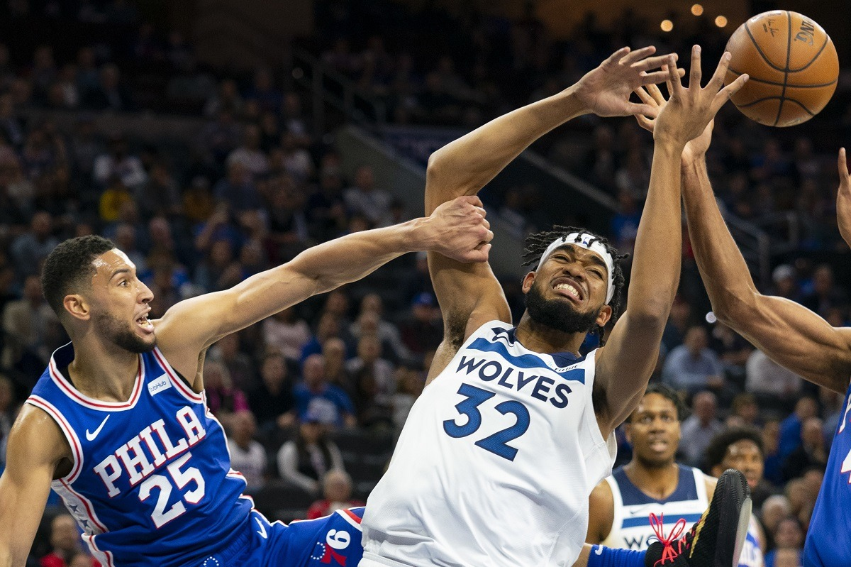 Minnesota Timberwolves Philadelphia 76ers trade rumors Ben Simmons