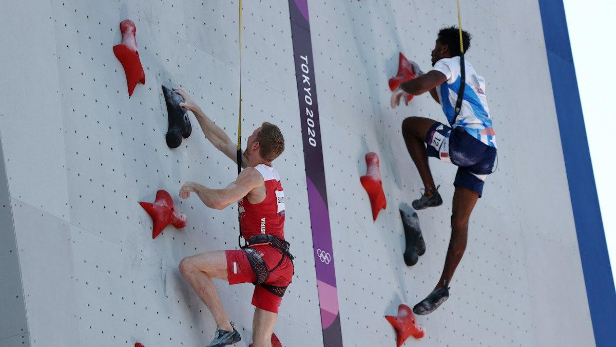 Sport climbing odds Olympics
