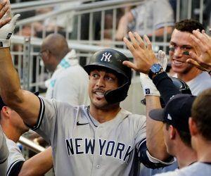 Giancarlo Stanton Home Run New York Yankees winning streak NY Bronx Bombers