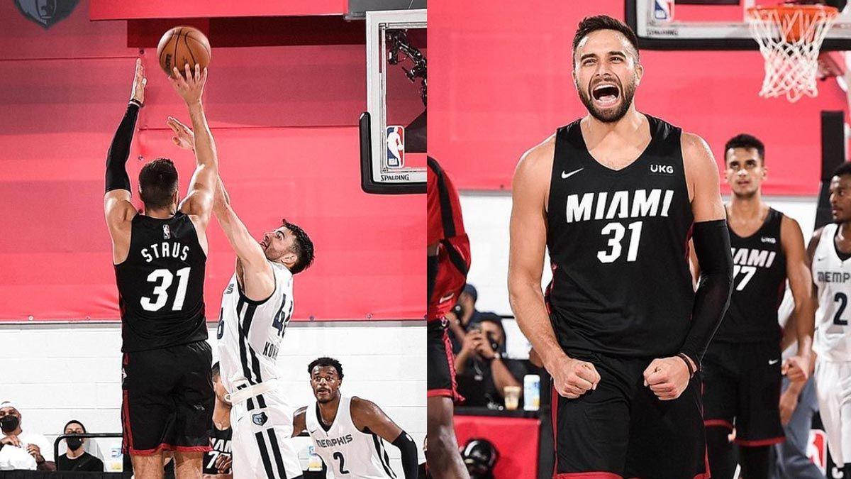 Max Strus Miami Heat NBA Summer League Game Winner Sudden Death Overtime