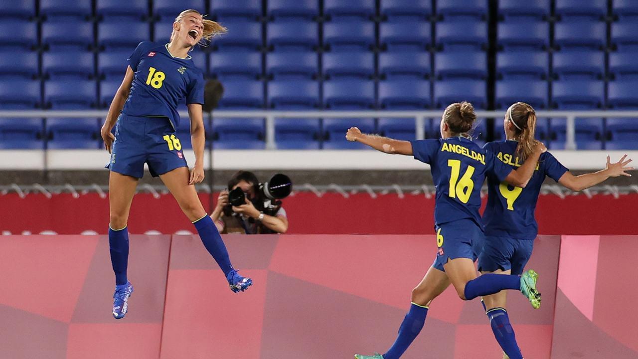 Olympic women's soccer odds Sweden Canada