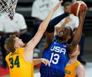 USA Australia Olympic basketball odds