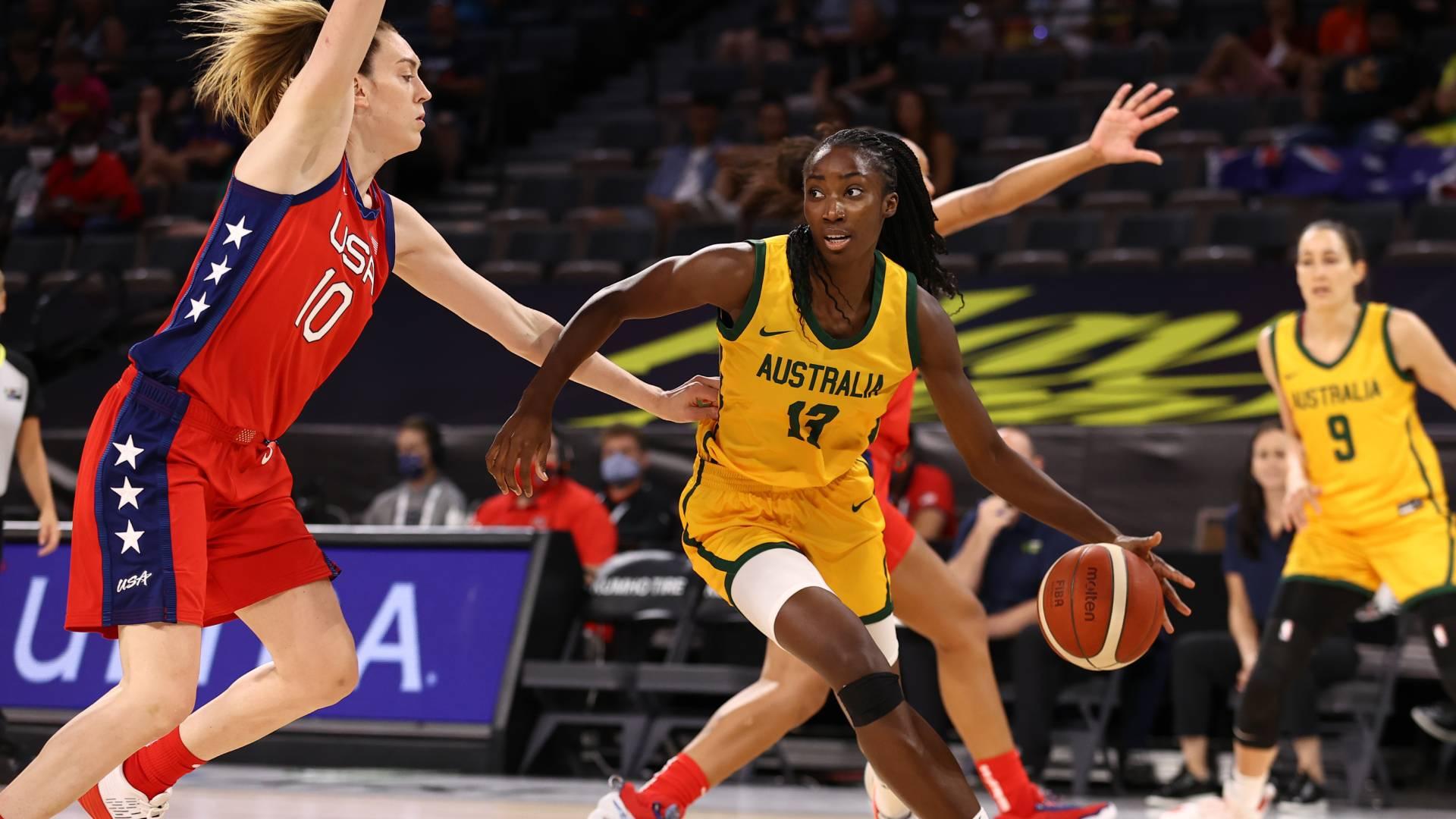 USA Australia basketball odds women's