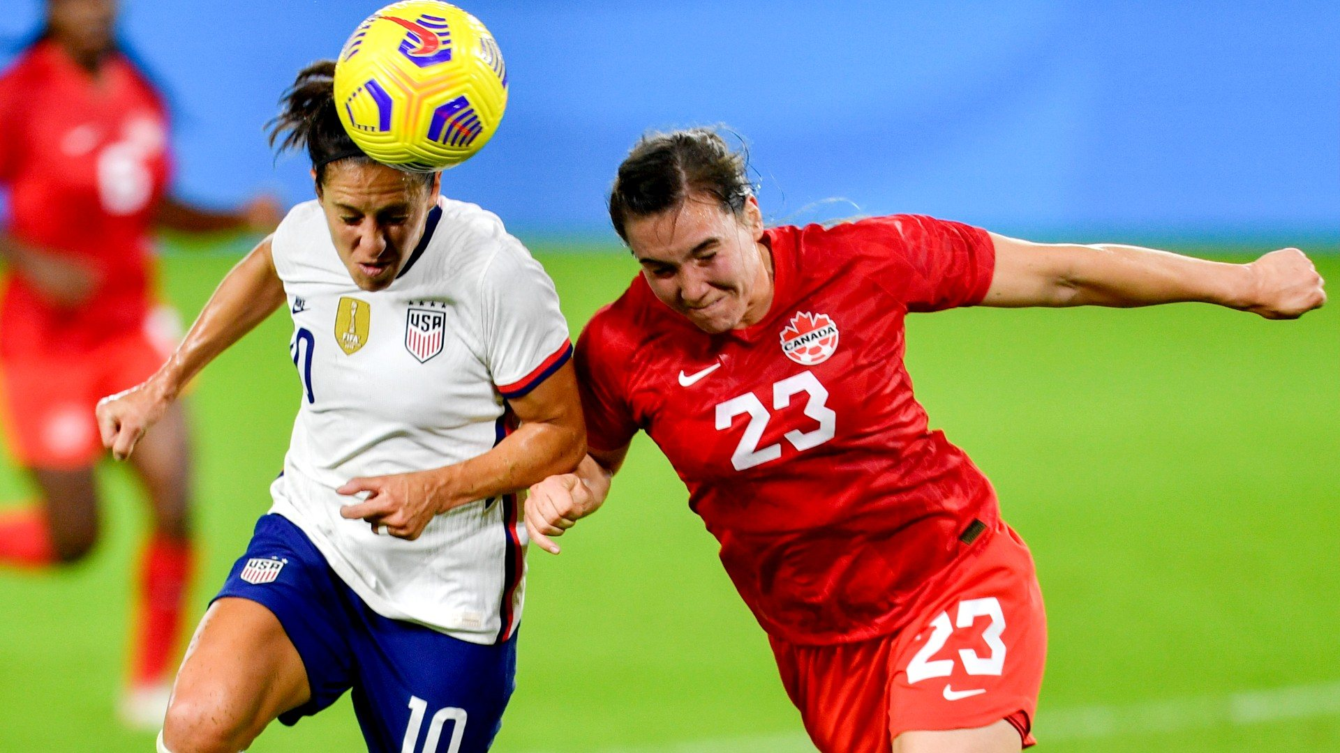 USA Canada soccer odds women's