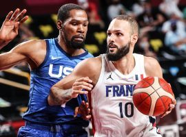 Team USA will take on France in the men's basketball gold medal game, a rematch of France's pool play win over the Americans. (Image: Getty)