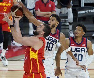 USA Spain basketball odds
