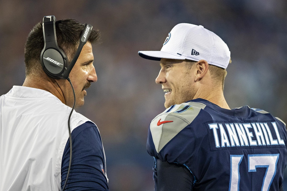 Ryan Tannehill Mike Vrabel Tennessee Titans COVID-19 test positive outbreak