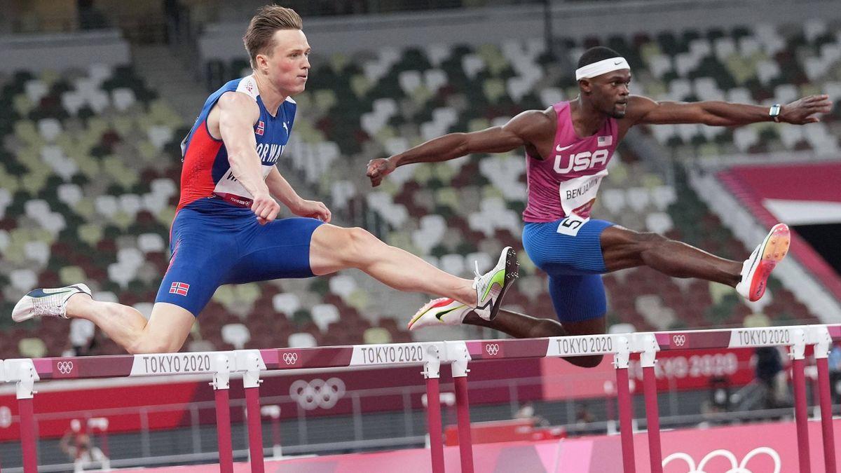 400m hurdles odds Warholm Benjamin