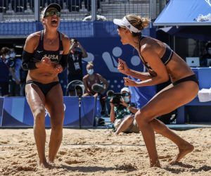 Olympic beach volleyball odds